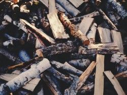 Download Wallpaper 1280×960 Firewood, Logs, Timber 1280×960 HD Background