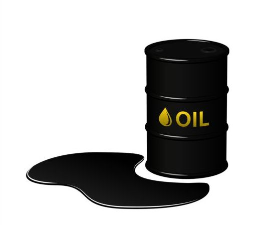 Barrel of oil vector