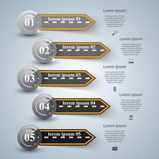 Business Infographic creative design 4507