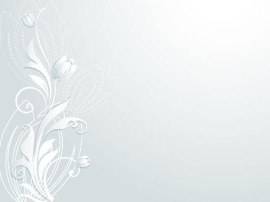 Elegant paper flower vector material 08
