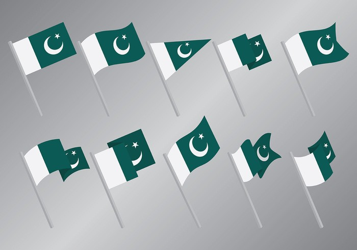 Free Pakistan Flag Icons Vector