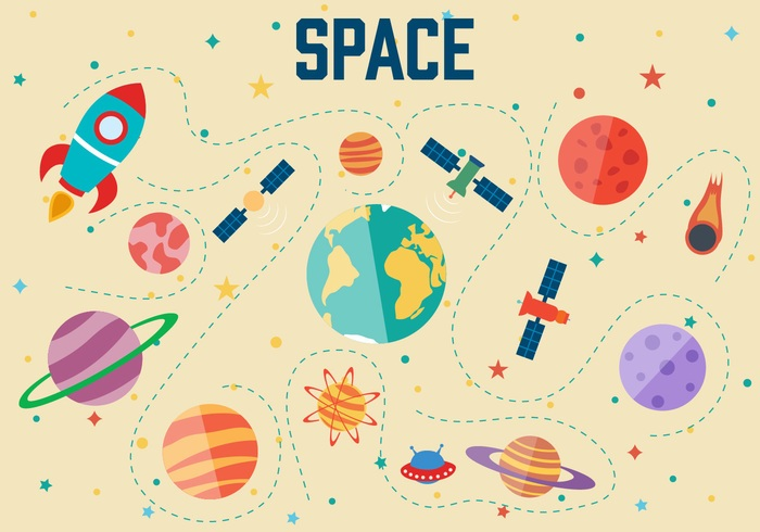Free Space Vector Illustration