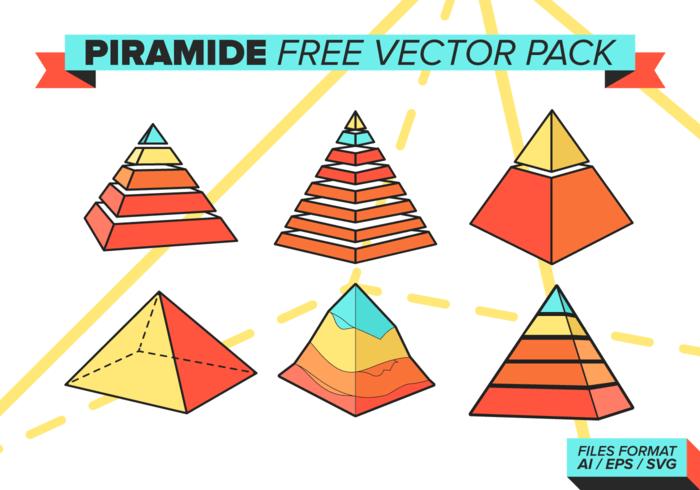 Piramide Free Vector Pack
