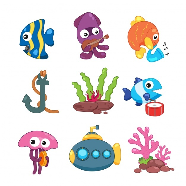 Sealife elements collection