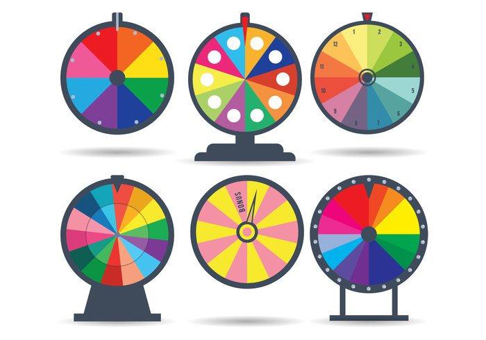 Spinning Wheel Vector