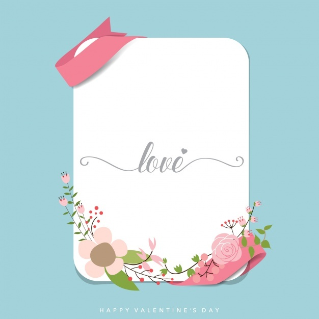 Valentine's card design