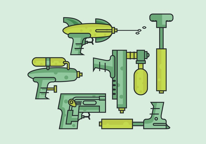 Vector Water Gun