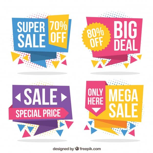 Discount Banners