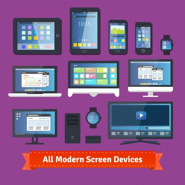 All modern screen devices
