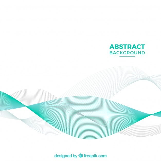 Elegant background with abstract waves