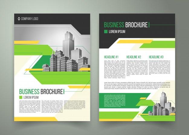 Flyer, cover design, business brochure