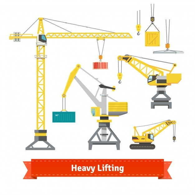 Heavy lifting elements Vector | Free Download