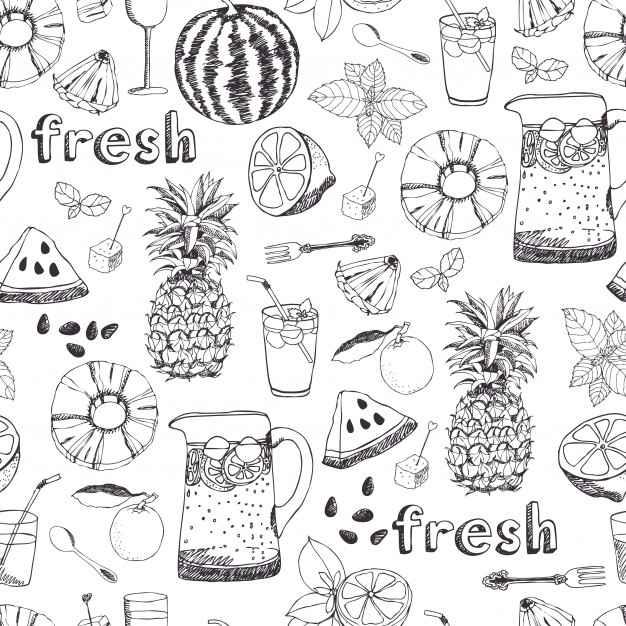 Summer freshness background