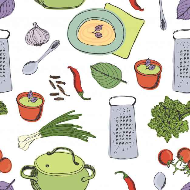 Cooking dinner pattern