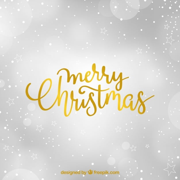Elegant blurred background for merry christmas